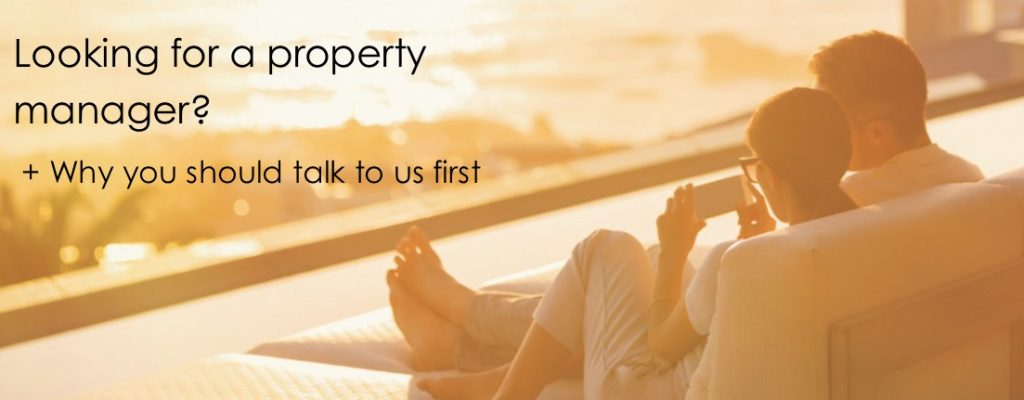 Looking for a property manager?